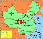 map of China